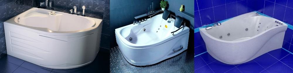 Установка пластиковой ванны